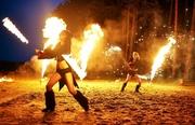 Файер Шоу на праздник Яркое и завораживающее зрелище