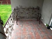 Кованая мебель для сада на заказ. Изготовим и доставим. Гибкие цены.