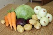Морковь,  лук,  свекла,  картофель. Овощи с доставкой по Минску.