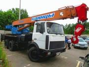 Продается автокран Клинцы КС-55713-6К,  МАЗ-630303,  25тонн. 21м.