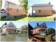 Продам дом на берегу озера г.п. Свирь,  от МКАД 147 км.