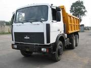 Перевозка грузов на самосвале Маз 5516 в Гродно и Гродненской области. Низкие цены! Работаем еждневно!