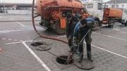 Прочистка,  промывка канализации. Устранение засоров  Телеинспекция
