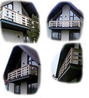 Перила балконные из массива Дуба. Размер,  цвет,  тематика резьбы – любы