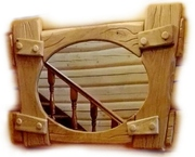 Рамы,  рамки для зеркал из массива Дуба. Размер,  цвет,  тематика резьбы