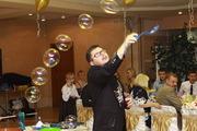 Шоу мыльных пузырей детские торжества вечеринки