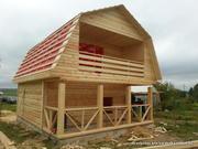 Дачный недорогой Дом из бруса с доставкой, установкой по Беларуси