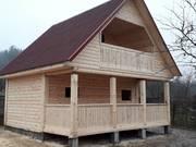 Дом/Баня из бруса Офелия 6 × 4 установка за 10 дней