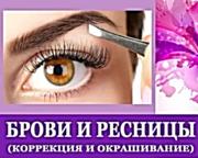 Моделирование и окраска Бровей,  ресниц Октябрьский район