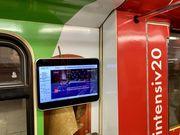 Видео реклама в метро