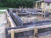 Строительство фундаментов под ключ,  сроком до 14 дней.