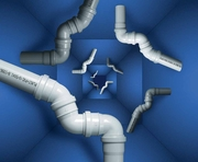 Монтаж систем канализации выполним в Дзержинске и р-не