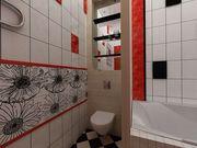 Облицовка стен и пола керамической плиткой