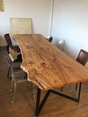 Стол из массива дерева в стиле LOFT для переговорной от 350 BYN