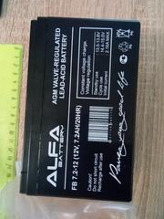 Новый аккумулятор 12В - 7, 2 А/ч для детских квадроциклов,  трициклов,  электромобилей.