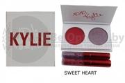 Набор Kylie RED палетка и 2 помады