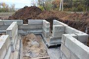 Монолитные работы,  фундаменты всех типов в Столбцах и районе
