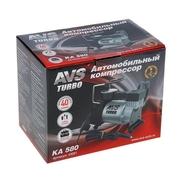 AVS KA580 turbo компрессор автомобильный Новый