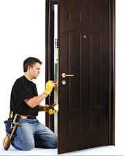 Замена,  врезка замков в металлические двери.