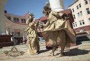 Живые Статуи на Свадьбу,  День рождения,  Юбилей,  Корпоратив