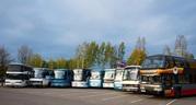 Пассажирские перевозки автобусами от 40 до 90 мест