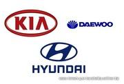 Автозапчасти б.у для автомобилей корейского и японского производсва